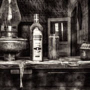 Closing Time Bodie Ghost Town Art Print