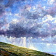 Cloud Burst Ireland Art Print