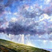 Cloud Burst Ireland Art Print