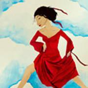 Cloud Dancing Of The Sky Warrior Art Print