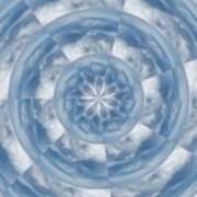 Cloud Fractal Art Print