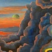 Cloud Gods Art Print