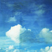 Cloud Painting Print by Setsiri Silapasuwanchai