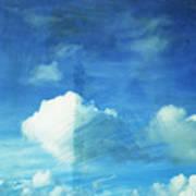 Cloud Painting Art Print