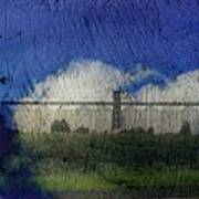 Cloud Silo Art Print