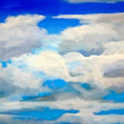 Cloud Study Art Print