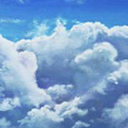 Cloudbank Art Print