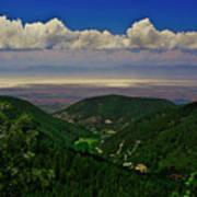 Cloudcroft Canyon View Art Print