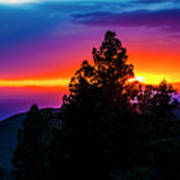Cloudcroft Sunset Art Print