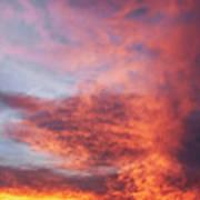 Clouds At Dawn Art Print
