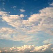 Clouds Clouds Clouds Art Print