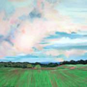 Clouds I Art Print by Lucinda  Hansen