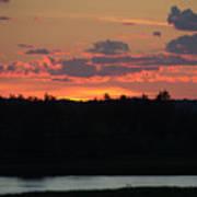 Clouds On Fire - Thousand Island Sunset -  Art Print