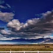 Clouds Over California Art Print