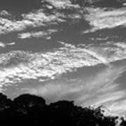 Clouds Over Florida Art Print