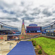 Clouds Over Gillette Stadium Art Print