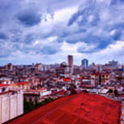 Clouds Over Havana Art Print