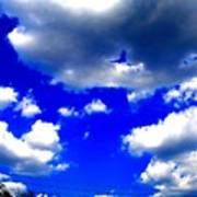 Clouds Study  1 Art Print