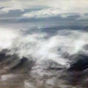 Clouds Tides Art Print