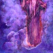 Cloudy Lavender Art Print