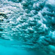 Cloudy Water Art Print