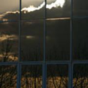 Cloudy Windows Art Print