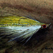 Clouser Minnow Art Print