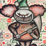 Clown Nightmare Art Print