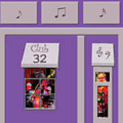 Club 32 Art Print