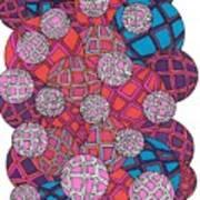 Cluster Of Spheres Art Print
