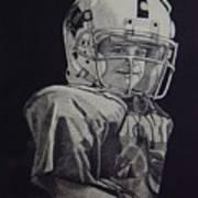 coach am I up Art Print by Ron Sylvia