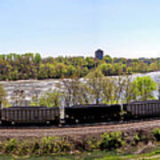 Coal Train Art Print