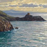 Coast At Amalfi Art Print