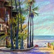 Coast Blvd La Jolla Art Print