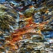 Coast - Color Of Rock Art Print