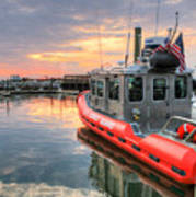 Coast Guard Anacostia Bolling Art Print