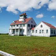 Coast Guard Building, Cape Cod Art Print