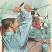 Coast Guard Career Art Print