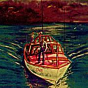 Coast Guard Before The Storm Art Print