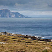Coast Of Achill Island Art Print