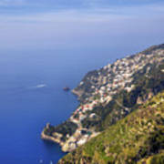 Coast Of Amalfi Art Print