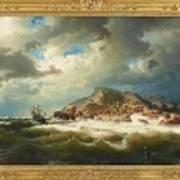 coast of Bohuslan Art Print