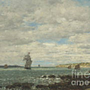 Coast Of Brittany Art Print