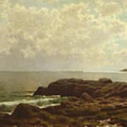 Coast Off Grand Manan Art Print