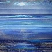 Coast Series Blue Am6 Art Print