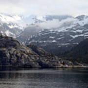 Coastal Beauty Of Alaska 1 Art Print