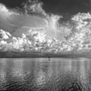 Coastal Clouds 2 Art Print