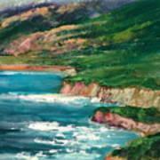 Coastal Coves Art Print