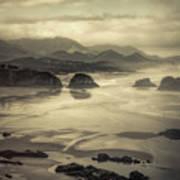 Coastal Dawn Art Print