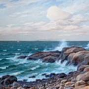 Coastal Landscape Art Print
